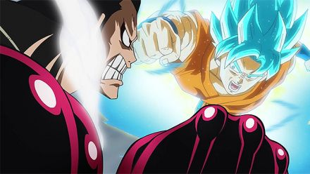 Vidéo : Dragon Ball Z Extreme Butôden X One Piece Great Pirate Colosseum : Trailer crossover