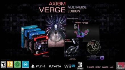 Vid�o : Axiom Verge : Trailer Multiverse Edition