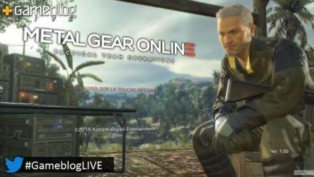 Vid�o : Découvrez Metal Gear Online Partie 1/2