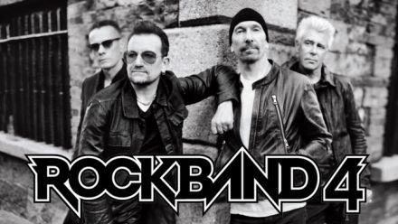 U2 est dans Rock Band 4