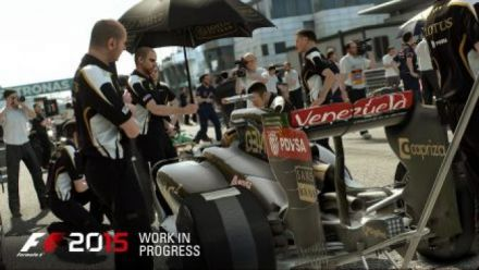 Vid�o : F1 2015 - bande-annonce de gameplay