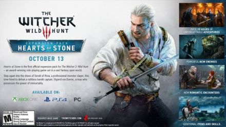 Vid�o : The Witcher 3 : Wild Hunt - Hearts of Stone - Trailer de lancement
