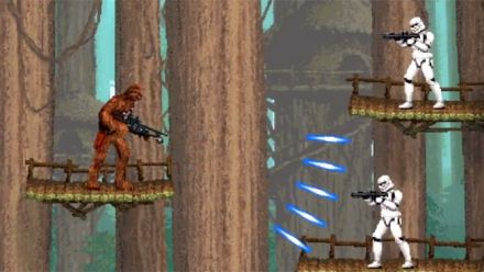 Vid�o : Star Wars Force Collection : mini-jeu Contra