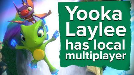 Vid�o : Yooka-Laylee : Présentation du multijoueur en vidéo