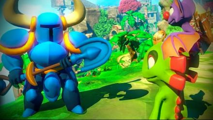 Vid�o : Yooka-Laylee accueille Shovel Knight