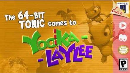 Vid�o : Yooka-Laylee : Trailer de la version 64 bits