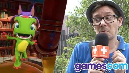 Gamescom 2016 : Yooka Laylee, nos impressions