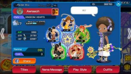 Vid�o : Kingdom Hearts Unchained X - Trailer d'annonce