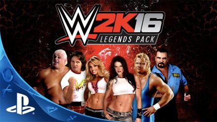 Vid�o : WWE 2K16 : Bande-annonce Legends Pack