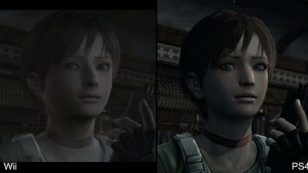 Vid�o : Resident Evil Zero HD - Comparaison GC et PS4