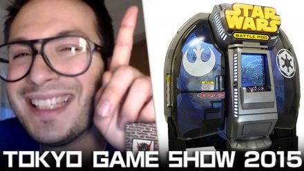 Vid�o : TGS 2015 : Impressions Star Wars Battle Pod