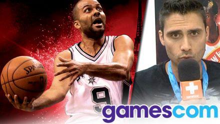 Gamescom 2015 : NBA 2K16, toujours le meilleur au rebond ?