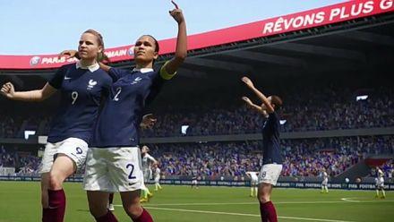FIFA 16 :les Bleues modélisées
