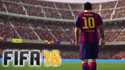 FIFA 16 : un teaser 100% Messi