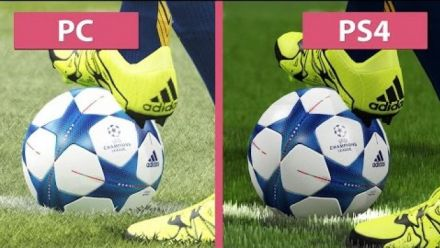 Pro Evolution Soccer 2016 - PC vs. PS4 Graphics