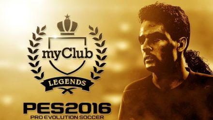 PES 2016 : Trailer Légendes myClub