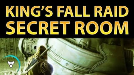 Vid�o : Destiny : King's Fall Secret Room