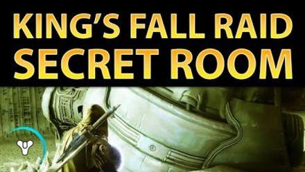 Destiny : King's Fall Secret Room