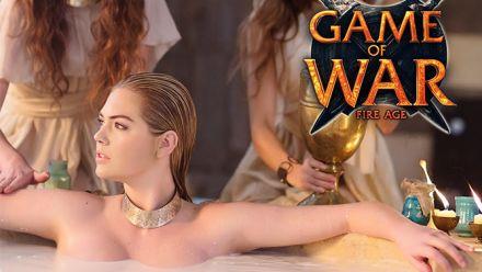 Vid�o : Game of War se paye Kate Upton pour le Super Bowl