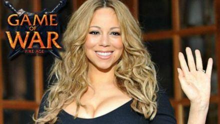Vid�o : Game of War : Publicité Mariah Carey