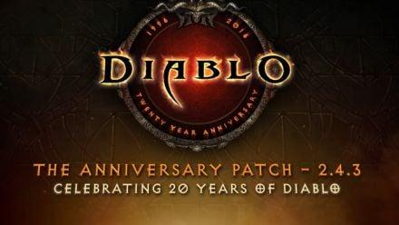 Vidéo : Diablo III : Le patch 2.4.3 célébrant les 20 ans de la série se montre