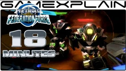 Metroid Prime: Federation Force - Séquence de gameplay de 18 minutes
