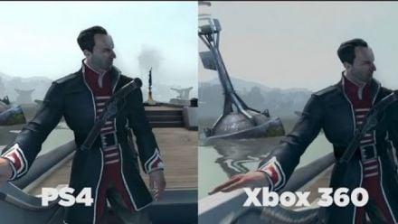 Vid�o : Dishonored : PS4 vs Xbox 360
