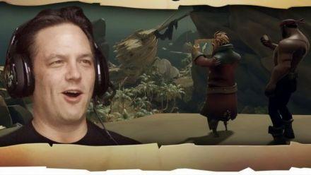 Sea of Thieves : Phil Spencer joue avec les développeurs