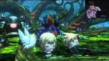 Séquence de Gameplay World of Final Fantasy JF 2016