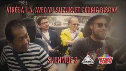 E3 2015 : Yu Suzuki parle de Shenmue III a Sebastien Abdelhamid
