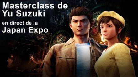 Shenmue III : Masterclass de Yu Suzuki à Japan Expo 2019