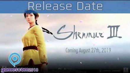 shenmue III : Trailer date de sortie