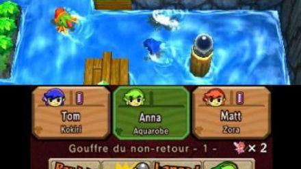 Vid�o : Zelda Tri Force Heroes : 15 minutes de gameplay avec Aonuma