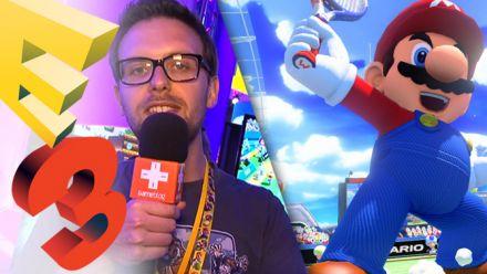 Vid�o : E3 2015 : on a joué à Mario Tennis Wii U, retour gagnant ?