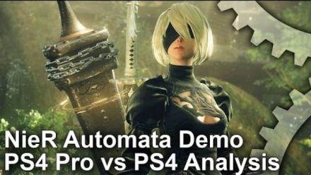 NieR Automata - Comparaison PS4 et PS4 Pro