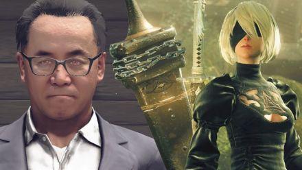 NieR Automata - Combat de Boss contre Square Enix et PlatinumGames !