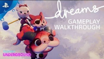Dreams  : 20 minutes de gameplay chez PlayStation Underground