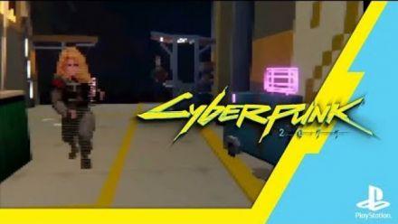 Dreams : Cyberpunk 2077 version PS1 (vidéo de Barely Regal)