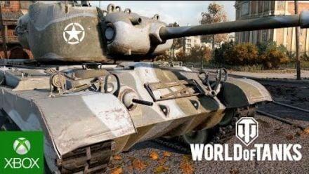 vidéo : Xbox One X : World of Tanks trailer des améliorations