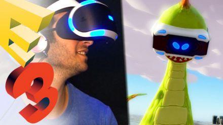 E3 2015 : The PlayRoom VR (Morpheus PS4), nos impressions