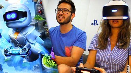The PlayRoom Robot Rescue : Nous avons testé une aventure à la Mario en VR !
