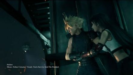 Final Fantasy VII Remake : Pub japonaise #1