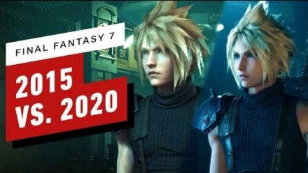 Final Fantasy VII Remake : Le comparatif 2015 vs 2020 (vidéo de IGN)