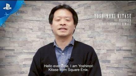 Vidéo : Final Fantasy VII Remake : Message de Yoshinori Kitase pour le lancement