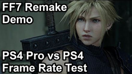 Final Fantasy VII Remake : Comparaison PS4 Pro-PS4