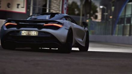 Project CARS 2 : McLaren 720S en action