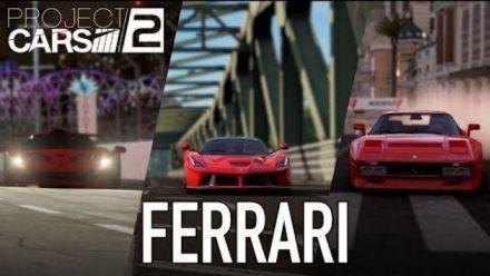 Project CARS 2 : Ferrari arrive dans le jeu