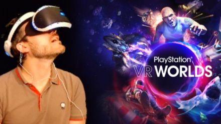 PlayStation VR Worlds nous a-t-il convaincu ? Découverte vidéo