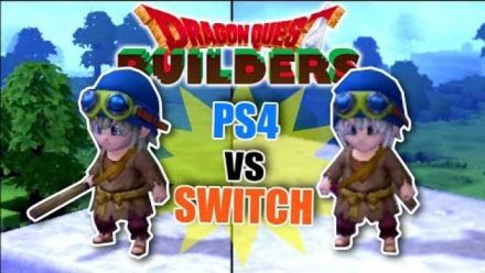 Dragon Quest Builders : Comparatif PS4/Switch