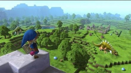Dragon Quest Builders - Tokyo Game Show 2015 Gameplay
